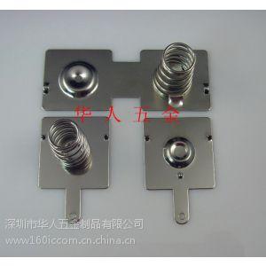 供应专业生产AA电池片五金弹片
