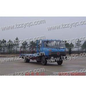 供应国五小平板运输车 小平板 拖车 楚风牌平板运输车 挖机运输车 5吨挖机拖车