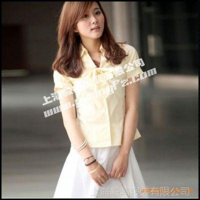 短袖长袖职业套装衬衫定制 女式衬衫 套装衬衫 美观大方