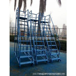 供应仓库取货用的登高梯 不锈钢登高梯报价 登高梯厂家