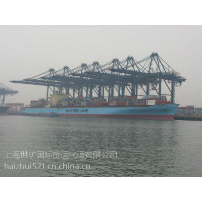 德国埃姆登到上海进口海运拼箱整柜专线