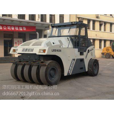 供应洛建洛阳牌10吨LRS1016-2型轮式压路机