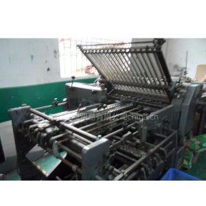供应二手印刷后道加工设备斯太尔折页机博晟