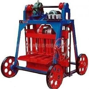 供应怡祥空心砖机、小型半自动砌块砖机