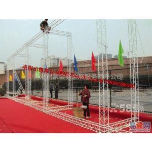 供应洛阳舞台桁架搭建  各类庆典物料制作