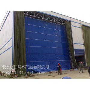 供应柔性大门 - PVC透明软门帘平开移门工业滑升门堆积式快速卷门18601212630