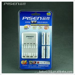 供应原装行货 品胜 新一代四通2000毫安5号标准4节充电电池套装G1231