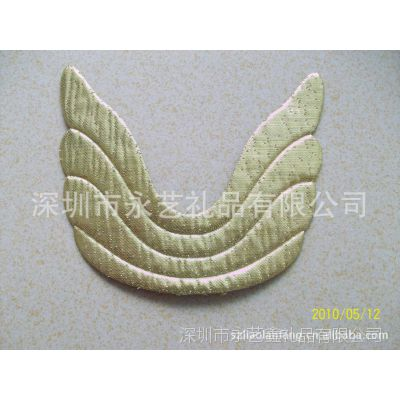 金色金葱天使翅膀 玩具有海翅膀 布料玩具翅膀 电压翅膀