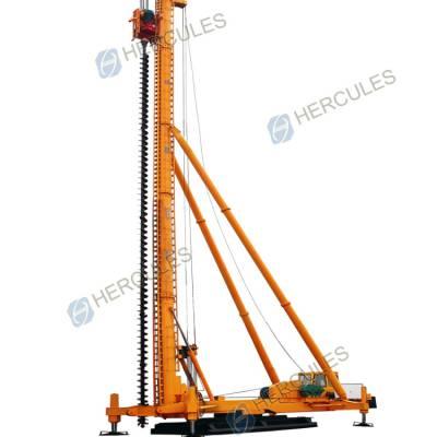 供应海格力斯KLB系列打深25米圆管式长螺旋钻孔机CFG打桩机