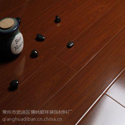 供应12mm仿实木密度板强化复合地板防潮耐磨一次成型模压地板