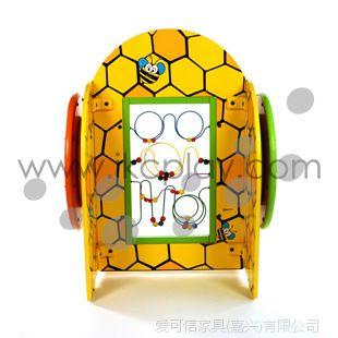 爱可信IKC蜜蜂 进口榉木 室内儿童游乐设施 淘气堡配件