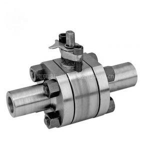 供应南京高压高温阀门厂-Q61F-160高压对焊球阀
