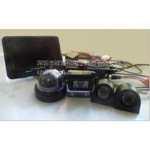 供应工程车盲区可视 4路车载dvr录像系统 车载录像机 工程车摄像头