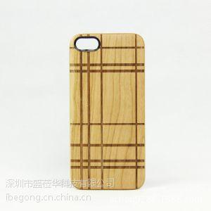 供应iPhone4 4S手机壳 SGP苹果实木雕刻手机外壳 手机套 配件批发
