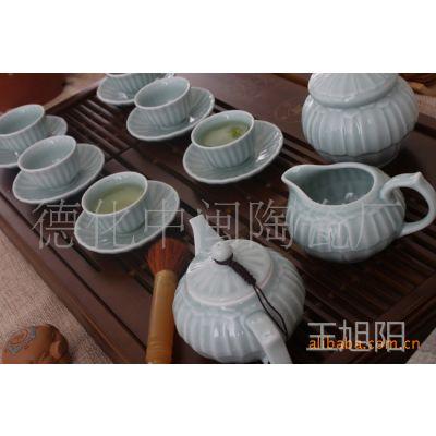 龙泉青瓷/陶瓷茶具/茶具套装/功夫茶具/一帆风顺