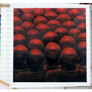 供应电影海报壁画墙画无框画现代简约书房客厅电表箱装饰画