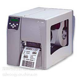 供应Zebra s4m条码打印机 工业标签打印机 300DPI服装标签打印机