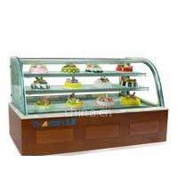 供应蛋糕展示柜-梯形蛋糕展示柜-日式展示柜