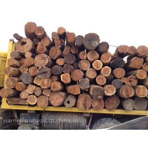 供应缅甸花梨木原木低价批发