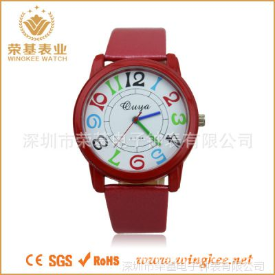 工厂手表批发 进口石英机芯手表 女士手表 学生手表 厂家促销