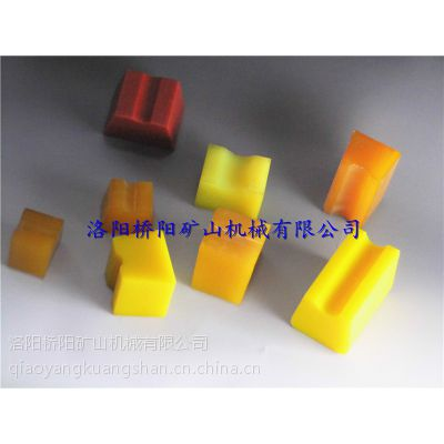 供应聚氨酯弹性体--天轮衬块,桥阳矿山生产厂家