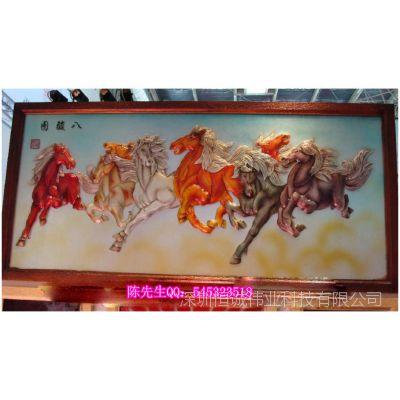 电视背景墙数码印花机/瓷砖uv彩绘机价格/东莞万能打印机生产厂家