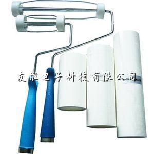 供应手动粘尘滚筒/粘尘胶纸/清洁胶带/清洁产品表面污点和无尘工作台
