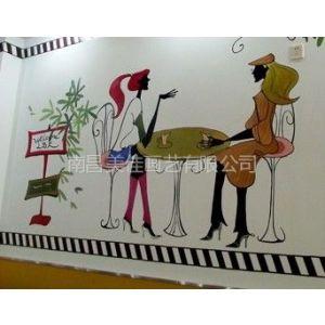 供应井冈山 泰和 吉安 文化墙 酒店 古建筑彩画彩绘手绘画壁画供应