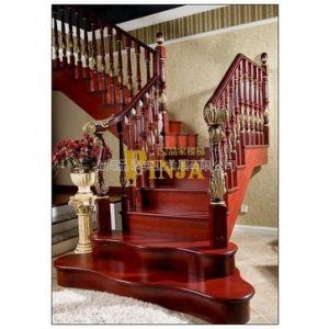 供应品聚楼梯 MOD.109实木楼梯 实木栏杆 实木立柱
