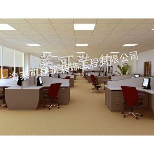 供应开放式办公室空间装修设计效果图
