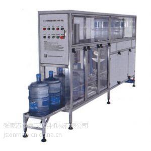 供应桶装水生产线QGF-120 5加仑水灌装机