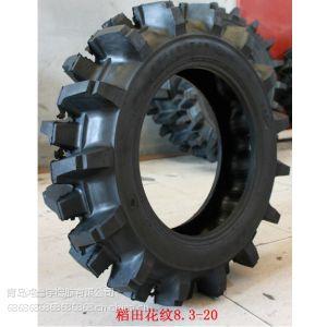 供应厂家批发三包正品水田轮胎8.3-24农耕机轮胎深花纹轮胎