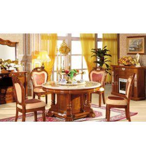 供应欧式圆餐桌,真皮餐椅