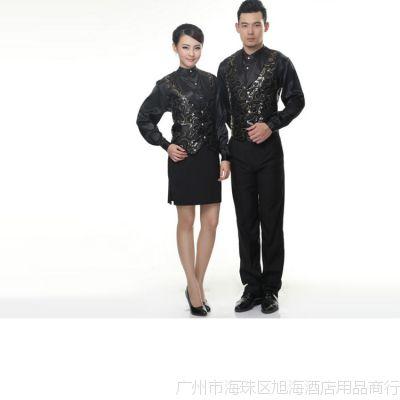 厂家批发定做时尚酒店服装女式马甲 欢迎定做广告马甲背心