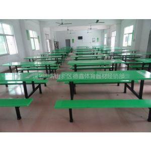 供应厂家直销龙华饭堂餐桌 龙华玻璃钢餐桌 质优价美
