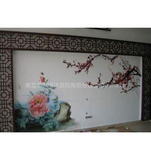 供应南昌山水画,国画山水画壁画