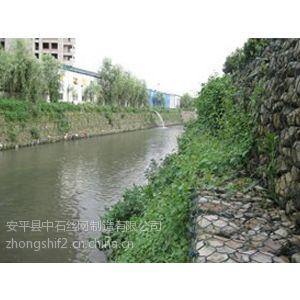 供应河道边坡防护5%锌铝石笼网   镀高尔凡石笼网