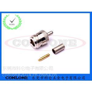 N型母头焊线式连接器(N-K3),N型射频同轴连接器