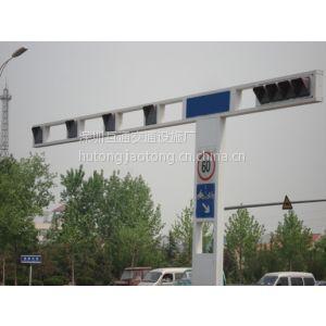 一体框架式信号灯杆、Q235钢红绿灯杆、交通信号灯、交通标志杆、L型标志杆、八角杆、深圳标志杆