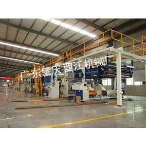 供应畅销欧美市场三层、五层、七层全自动瓦楞纸板生产线