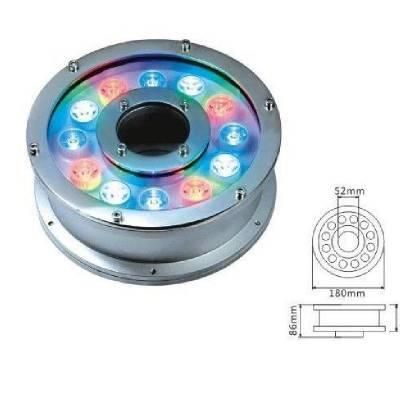 厂家大量供应12W喷泉灯,12WLED水下灯