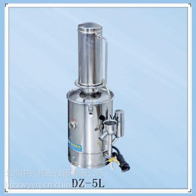 断水自控蒸馏水器,DZ-5L