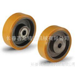 意大利产品ELESA注模聚氨酯滚轮RE.F4黄色脚轮参数图,脚轮厂家
