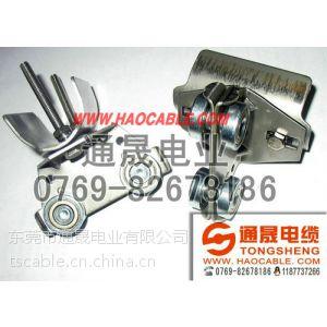 供应C40扁线滑轮,C40电缆滑车,不锈钢C40滑车,镀锌大滑车