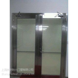 供应不锈钢大玻璃防火门 上海钢质大玻璃防火门厂家 甲级