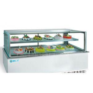 供应大理石风冷保鲜冷藏日式蛋糕展示柜