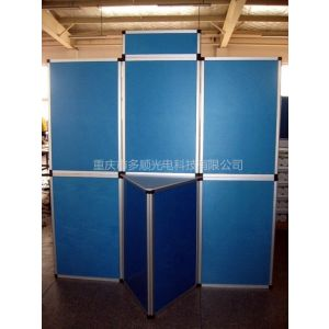 供应供应拉网展架、背景墙、广告POP 、展示柜、折叠屏风