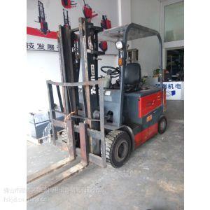 供应出售台励福佛山二手3吨电动平衡重式叉车
