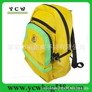 供应深圳龙岗手袋厂订做书包 过胶尼布纯色书包 可做多色 简约实用