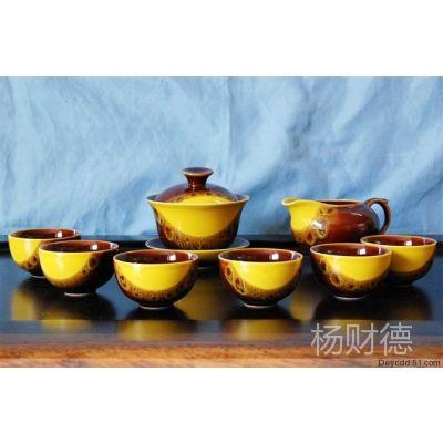 批发sbzh02高档陶瓷茶具套装商务家居用品礼品馈赠